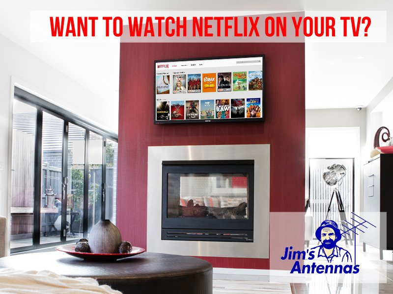 How do I get Netflix on my TV?