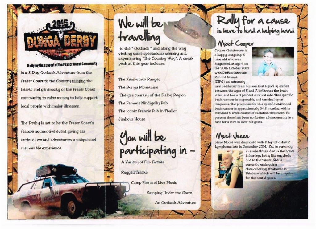 Dunga Rally Blog