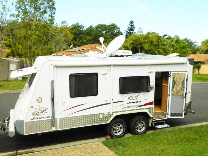 VAST Installation for Caravan TV Reception