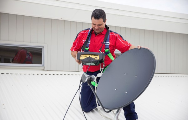 Satellite TV Installation