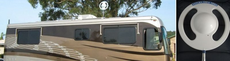 Installing Antennas for Caravans