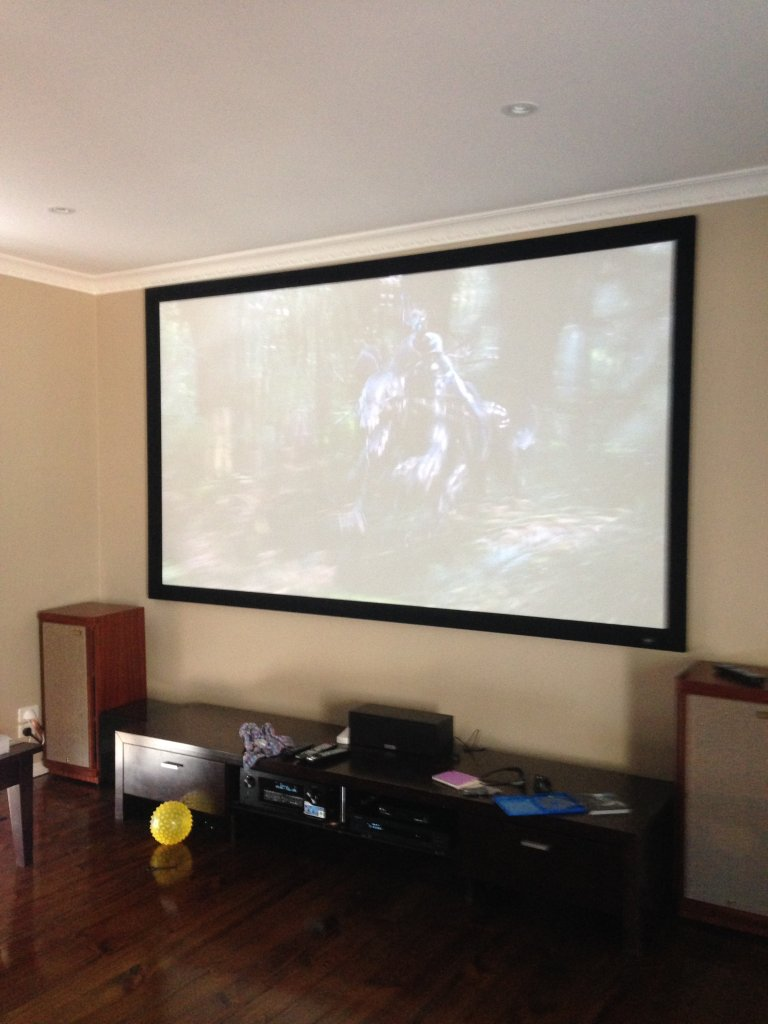 Home Theater install in Montrose
