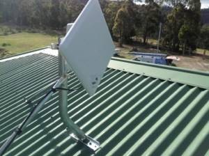 NBN wireless transmitters causing interference.
