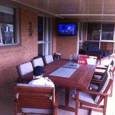 Setting up your TV in the Alfresco area? Jim's Antennas can help you…
