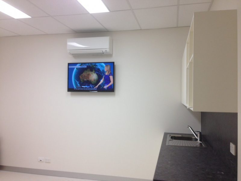 Lunchroom TV Wall Mount in Croydon