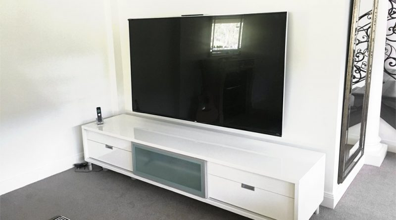 Size Does Matter: 80 Inch TV Wall Mount Install