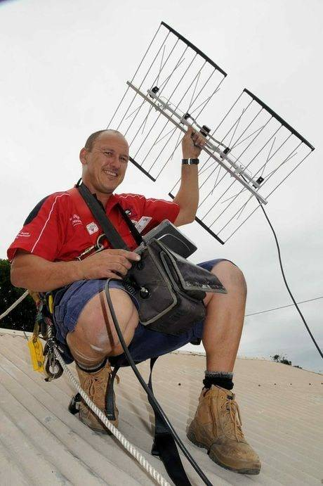 Channelling challenge for Gympie residents: Jim's Antennas Gympie Tim to the Rescue
