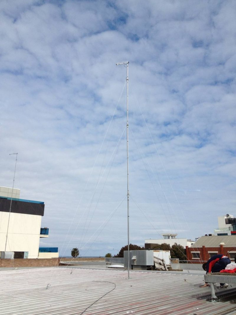 Antenna Installed In Port Melbourne
