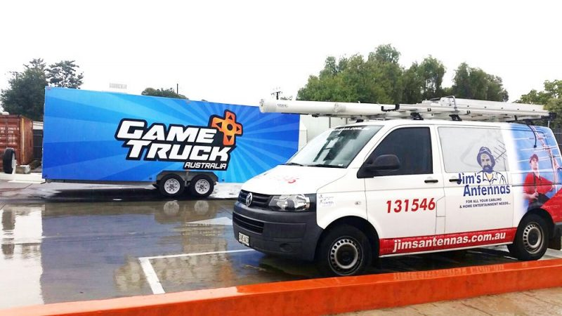 "Helping ""Game Truck Australia"" to a Flying Start in Moana"