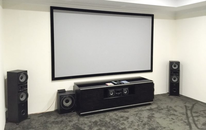 Home Theatre Installation and Set-up