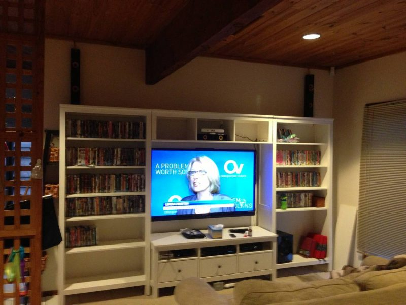 Wall Mount TV and Home Theatre installation in Park Orchards