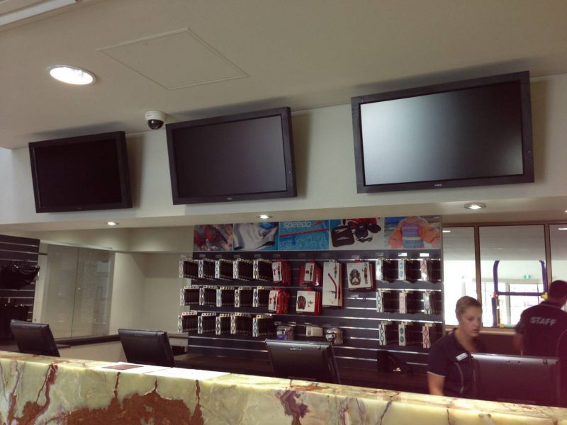 TV Installation For Leisure Centre In Greensborough