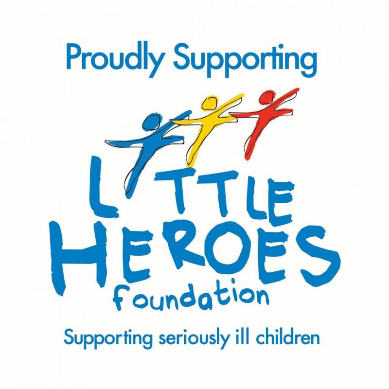 "JIM'S ANTENNAS (South Australia) PROUDLY SUPPORTING THE ""LITTLE HEROES FOUNDATION"""