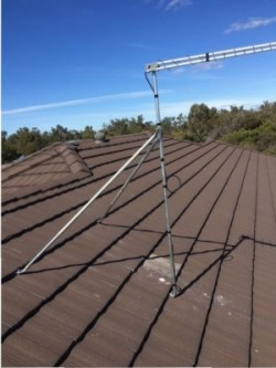 Leaking Roof? It could be time to get your antenna looked at.
