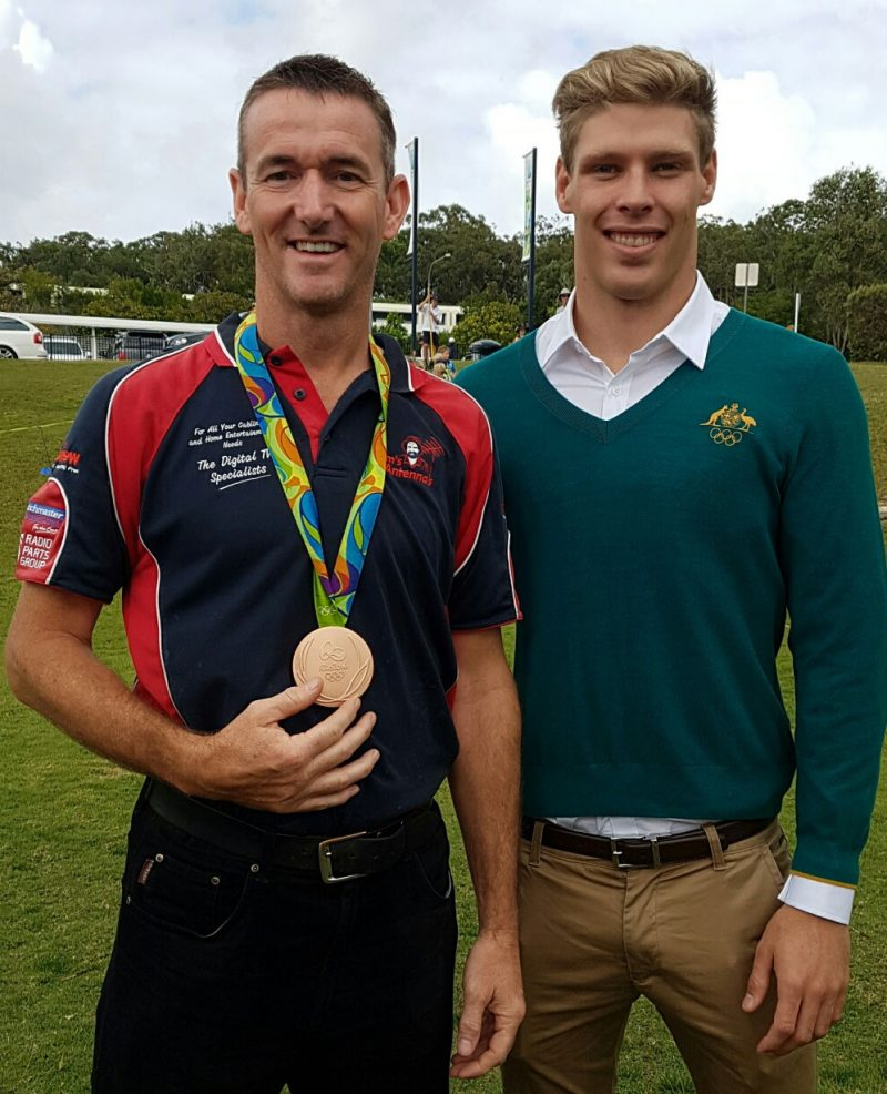 Rubbing Shoulders with Rio Olympic Medallist