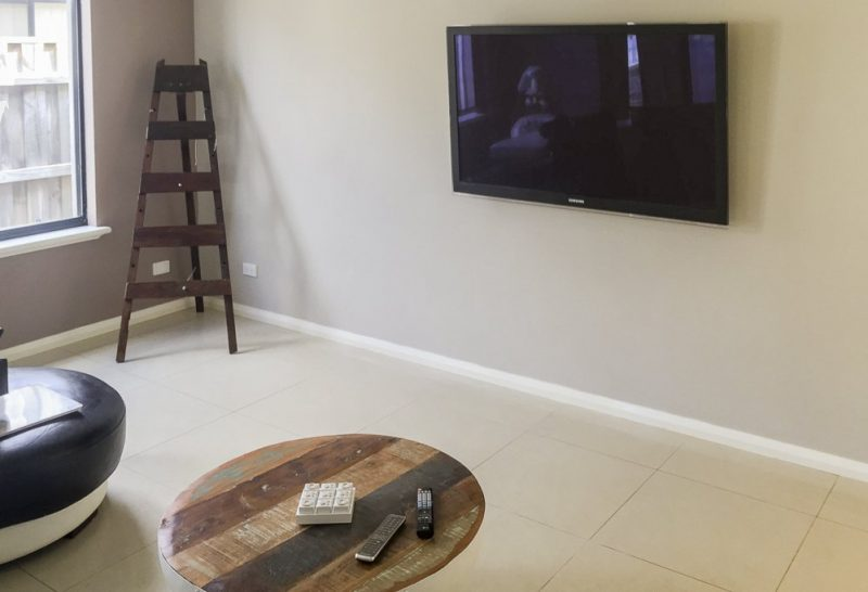 Plasma TV Wall-Mounted in Rockingham