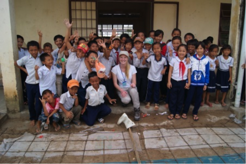 Shane's Volunteer Trip to Vietnam Thanh Loc Project