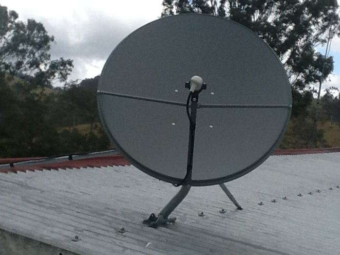Jim's Antennas Mt Pleasant: Another Quality VAST Install