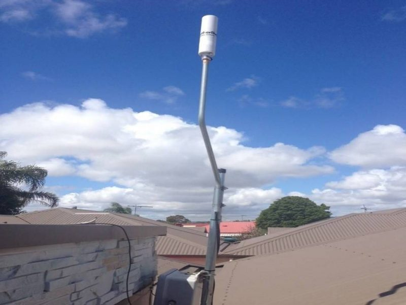 Weather Sensor Antenna Installed In Adelaide