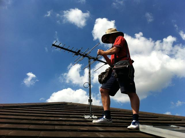 Installations of all types – Call Jim's Antennas Gold Coast & Brisbane