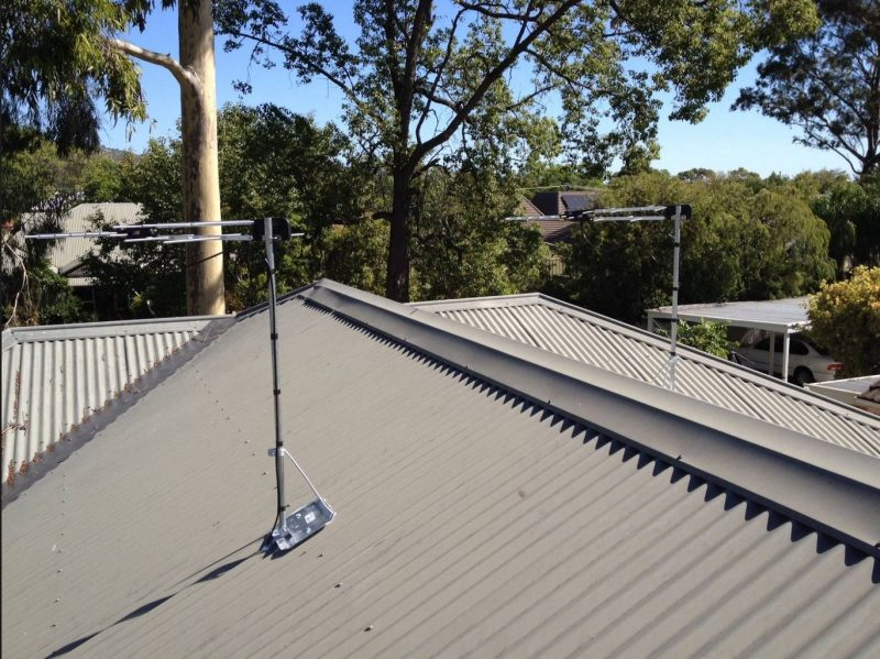 Jim's Antennas Woodville Respond To Adelaide Storms – Another Quality Digital Tv Antenna Installation