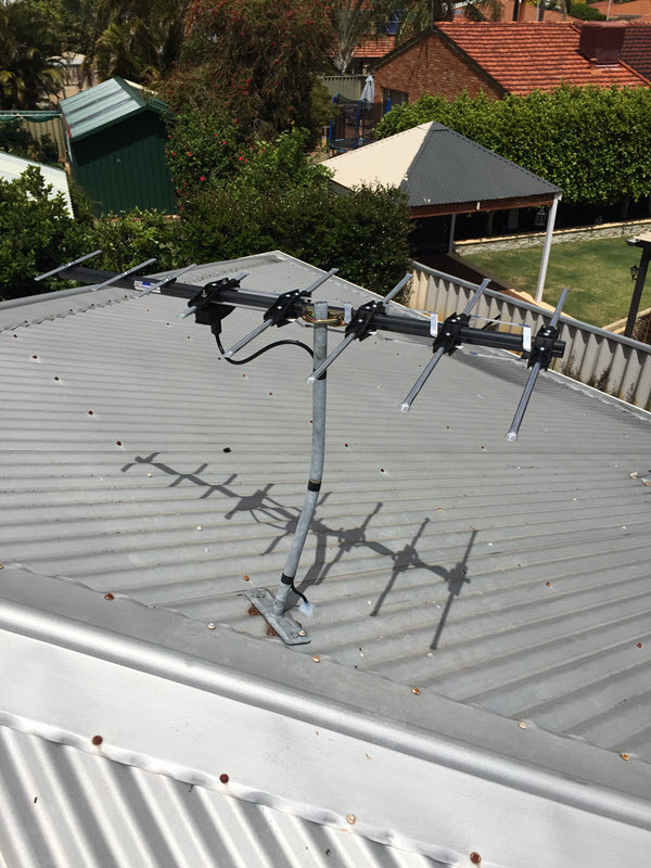 Fixing TV Reception Issues in Canning Vale.
