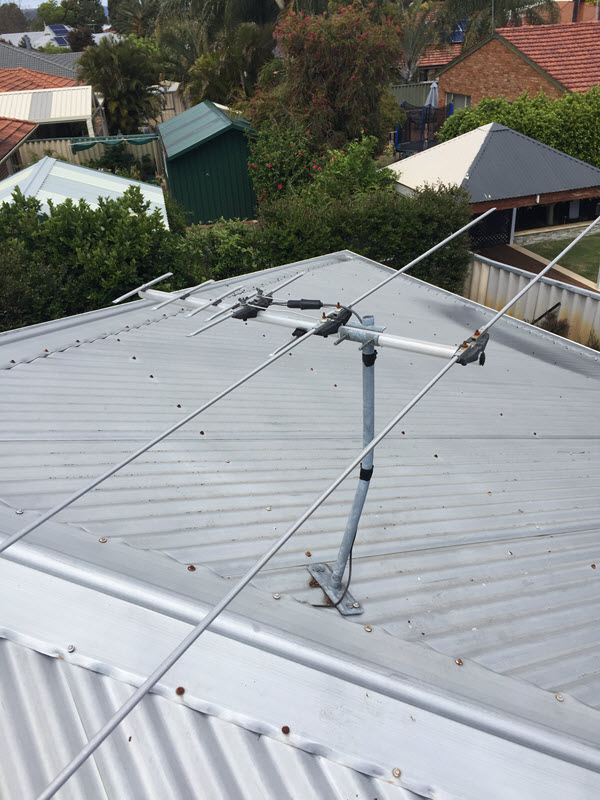 TV Reception Issues caused by Arial Damage