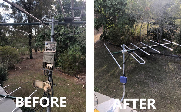 Antenna Replacement Fixed TV Reception Immediately