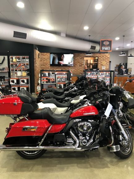 TV Wall Mounting for Harley Davidson