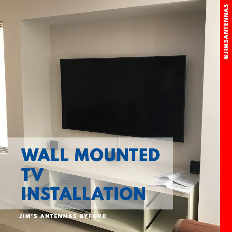 Wall Mounted TV in Murdoch