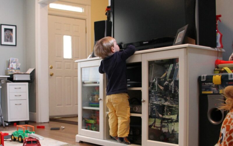 Why are parents getting their TV's Wall Mounted?