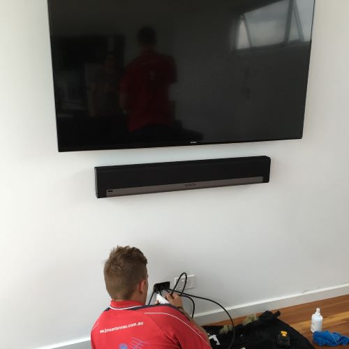 Concealing Cables for Wall Mounted TVs