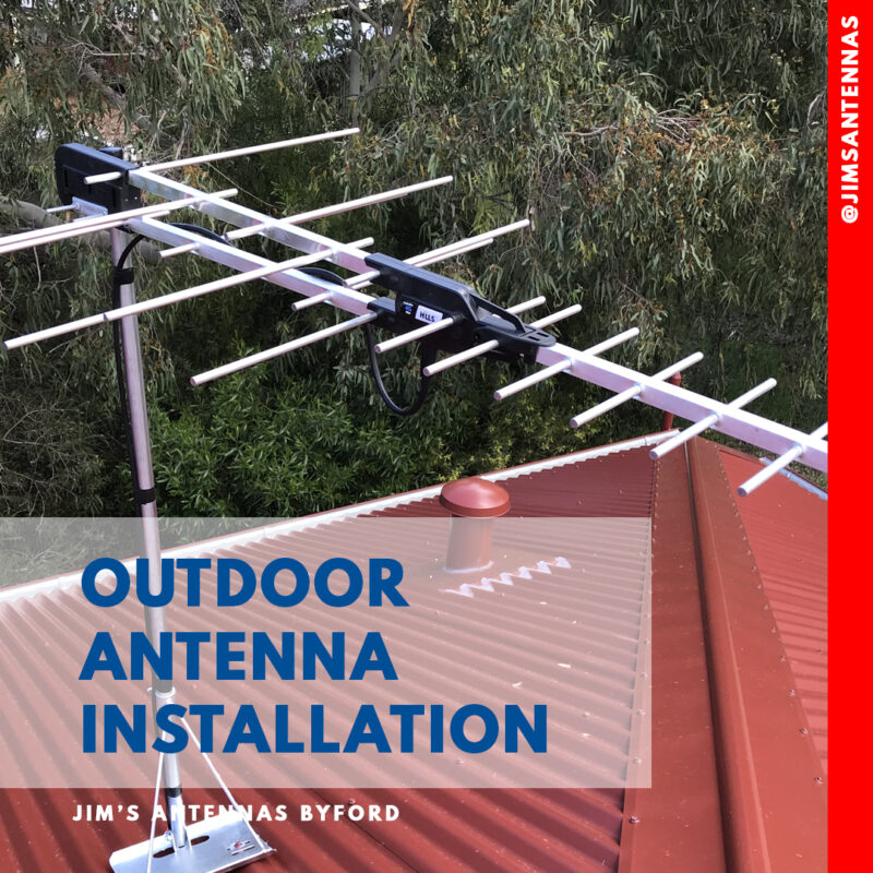 New Home New Antenna Casuarina