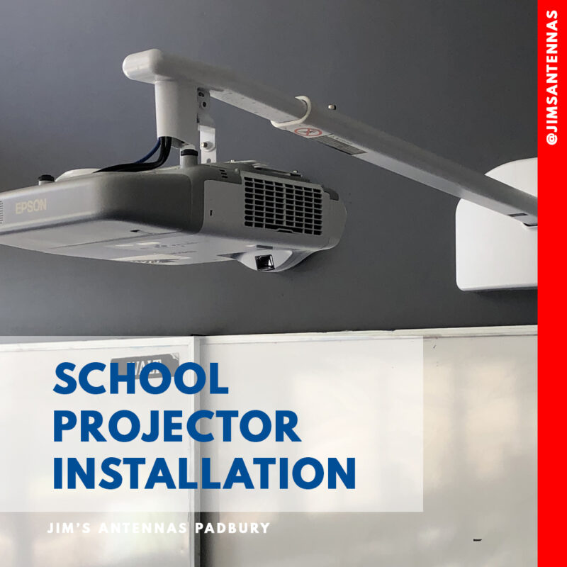 Projector Install for Schools