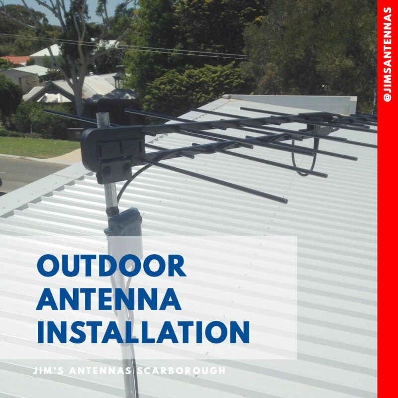 Antenna Install in Sorrento WA