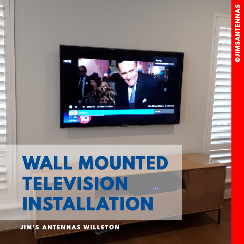 Cable Concealment with TV Wall Mounting