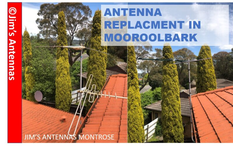 Free to Air Antenna Replacement in Mooroolbark