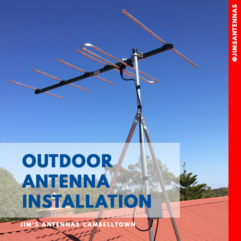 Antenna Installation Campbelltown