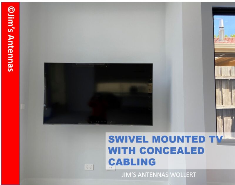 Swivel TV Wall Mount in Elsternwick