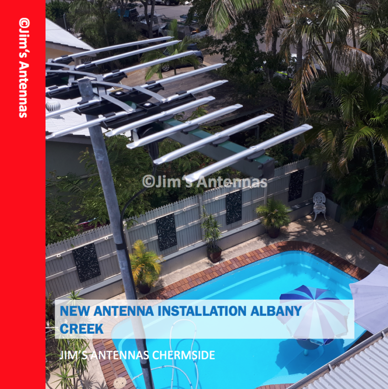 NEW ANTENNA INSTALLATION IN ALBANY CREEK