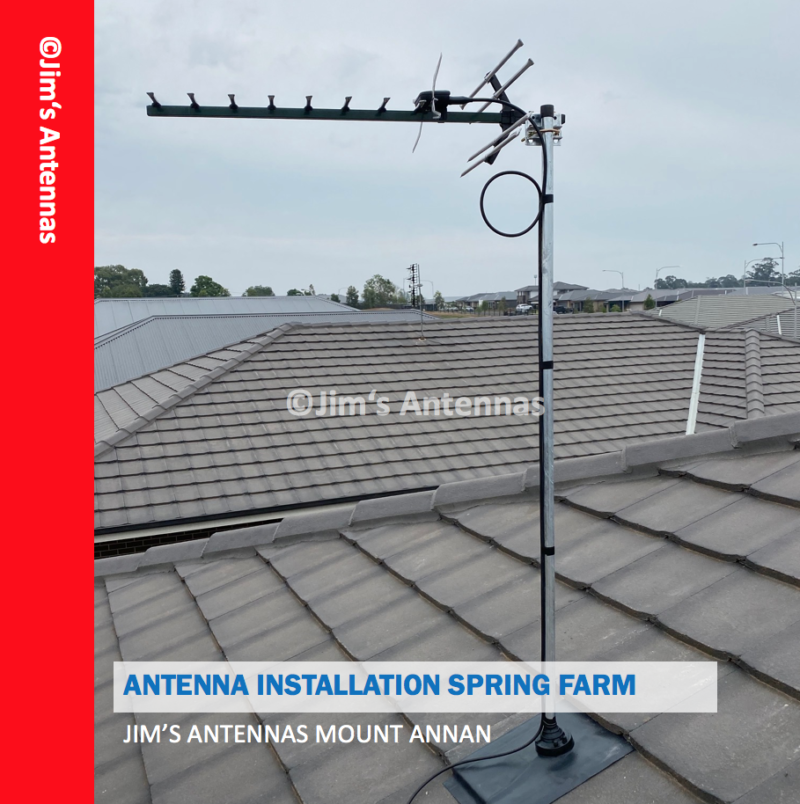 ANTENNA INSTALLATION IN SPRING FARM