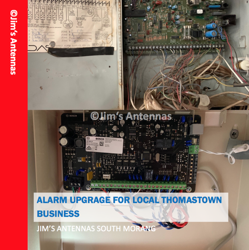 ALARM UPGRADE FOR LOCAL THOMASTOWN BUSINESS