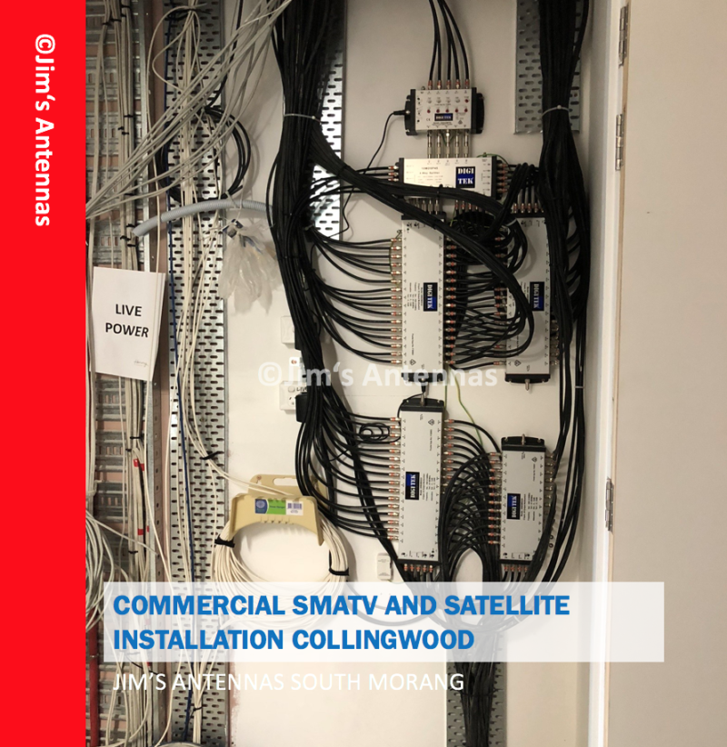 COMMERCIAL SMATV AND SATELLITE INSTALLATION IN COLLINGWOOD