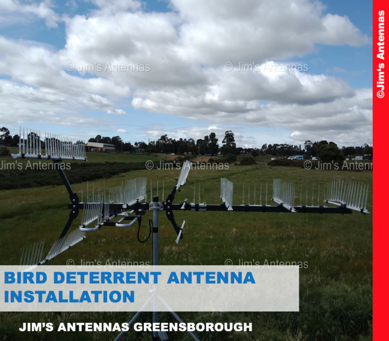 BIRD DETERRENT ANTENNA INSTALLATION IN MELBOURNE'S OUTER NORTH