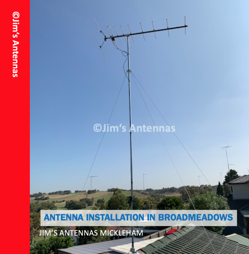 Repair of Wind Damaged Antenna