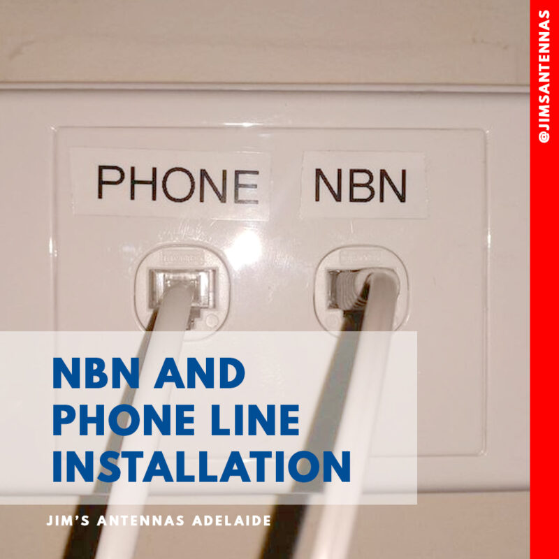 NBN & Phone line Installation in Adelaide.
