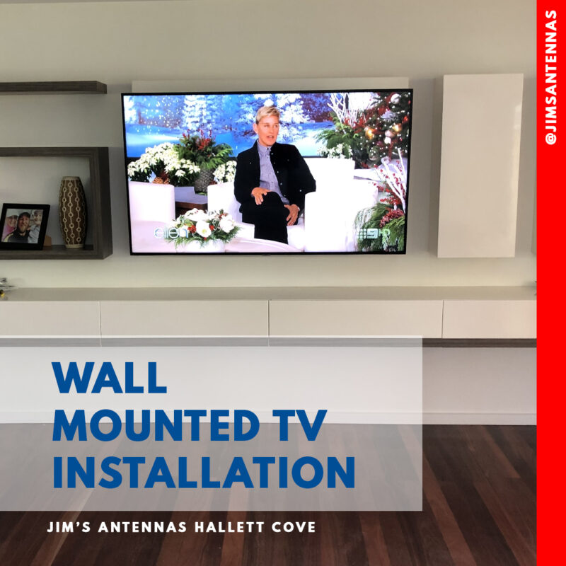 50″ TV Wall Mount in Hove