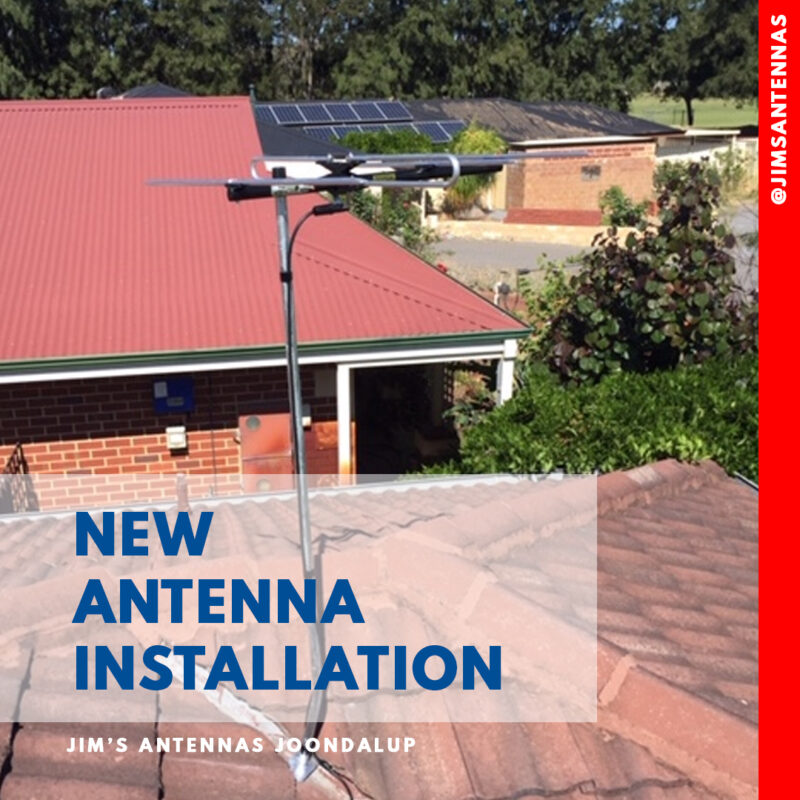 New Antenna Installation in Joondalup.