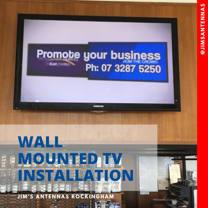 TV Wall Mount at the Golf Club in Claremont!