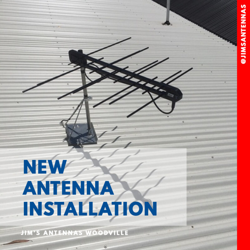 New Antenna Installation Woodville